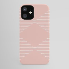 Geo (Blush) iPhone Case