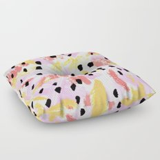Dreams of Summer Abstract Floor Pillow