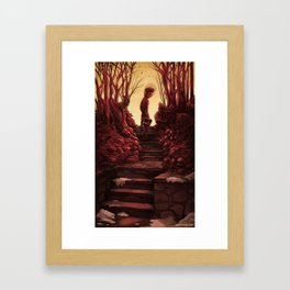 I Found This For You Framed Art Print