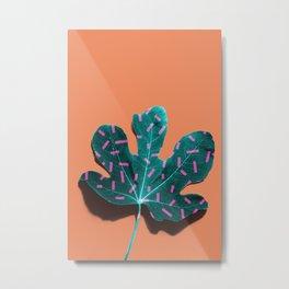 Tropical Leaf #02 Metal Print