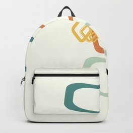 Mid Century Modern Shapes 02 Backpack