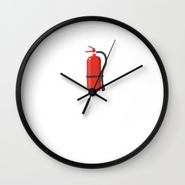 You Might Need This Yes, I'm that Hot Fire T-Shirt Wall Clock