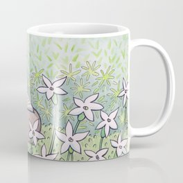 Mini White Stars Coffee Mug