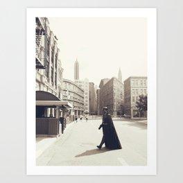 Darth Vader Does New York Art Print