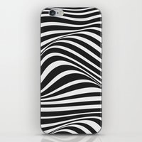 wave iPhone & iPod Skins featuring Wave by Tracie Andrews
