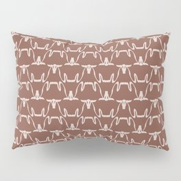 Abstract Cows Pattern Pillow Sham