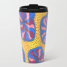 Colorful Retro Abstract Funk Travel Mug