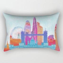 London Dreams  Rectangular Pillow