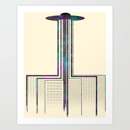 The Epic Space Takeover Art Print