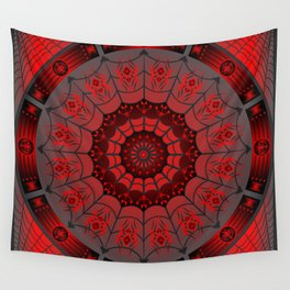 Gothic Spider Web Wall Tapestry