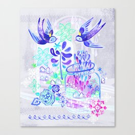 Summertime Kingdom Canvas Print