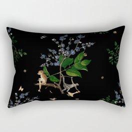 Monkey World: Apy and Vinnie Rectangular Pillow