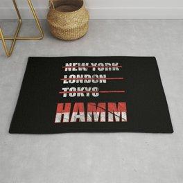 Hamm Cities Gift Idea Rug
