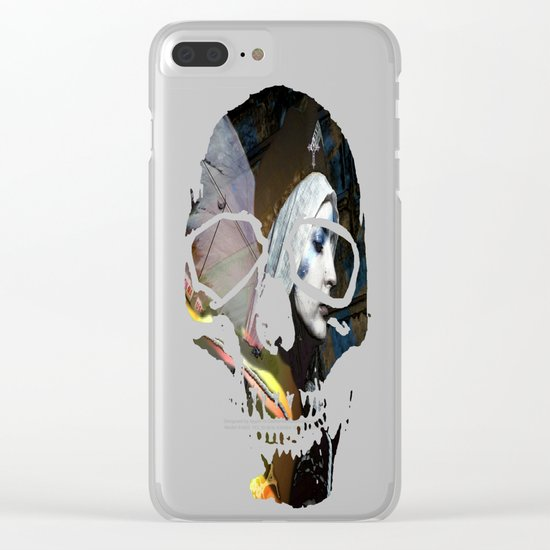 Saint Dymphna Reborn Clear iPhone Case