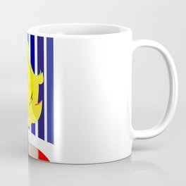"""""""Blonde Ambition"""" Paulette Lust's Original, Contemporary, Whimsical, Colorful Art  Coffee Mug"""