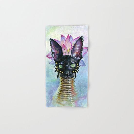 Cat Goddess Hand & Bath Towel