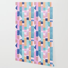 Colourful Watercolour Painting Wallpaper