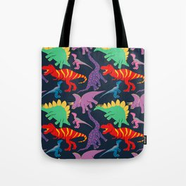 Dinosaur Domination - Dark Tote Bag