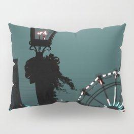 The lonely night Ferris-wheel Pillow Sham