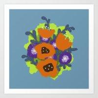 Bouquet #2 Art Print