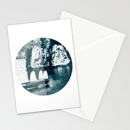 Bai Tho Junks Halong Bay Vietnam Stationery Cards