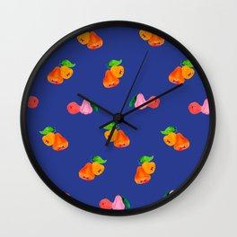 Jambu I (Wax Apple) - Singapore Tropical Fruits Series Wall Clock