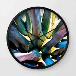 Blue Agave Wall Clock