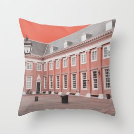 Amsterdam Abstract No.4 Throw Pillow
