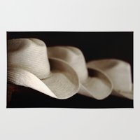 hats Area & Throw Rugs featuring Hats Off by KClark Photography