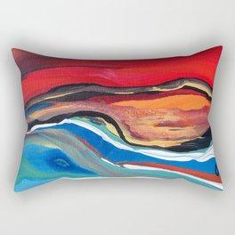 Mer d'ailleurs Rectangular Pillow