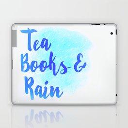 Tea, Books & Rain Laptop & iPad Skin