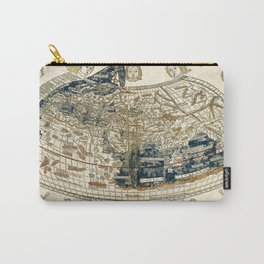 World Map 1482 Carry-All Pouch