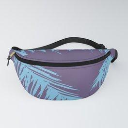 Ultra Violet Palm Print Fanny Pack