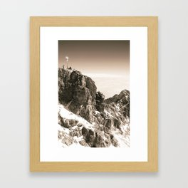 Sitting on top of Germany Framed Art Print