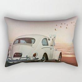NEVER STOP EXPLORING VI (A SUNDOWN) Rectangular Pillow
