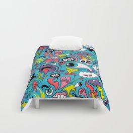 Doodled Pattern Comforters