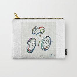 Bicycle - Zoomin' Through Carry-All Pouch