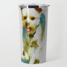 Poppy (Digital Art) Travel Mug