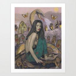 Serpent Spirit Art Print
