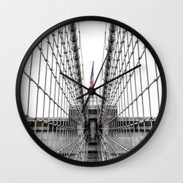 The Brooklyn Bridge Wall Clock