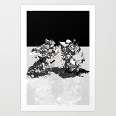 untwin grete Art Print