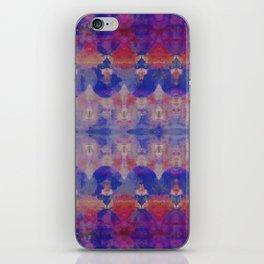 Watercolour Tribal Blue iPhone Skin