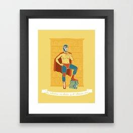 Lucha Library Framed Art Print