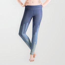 Melting blue Leggings
