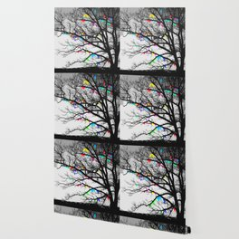 The Wishing Tree II, Color Bleed Wallpaper