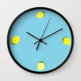 Life and Lemons Wall Clock