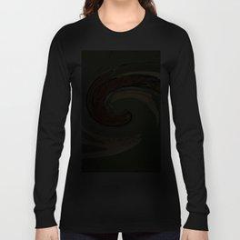 Swirl 05 - Colors of Rust / RostArt Long Sleeve T-shirt