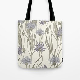 vintage cornflowers Tote Bag