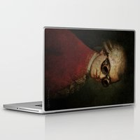 mozart Laptop & iPad Skins featuring Funny Steampunk Mozart by Paul Stickland for StrangeStore