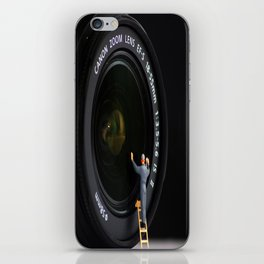 Keeping the Lenses Clean iPhone Skin